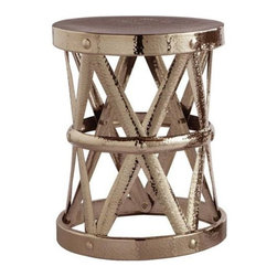 Arteriors Costello Accent Table, Polished Nickel - I first took note of this shiny and eclectic side table when I saw Houzz interior designer Rachel Reider using it in a very elegant way. I'm so glad I found the source; it's definitely on my wishlist!