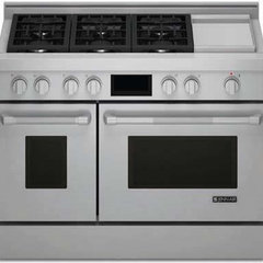contemporary gas ranges and electric ranges by Universal Appliance and Kitchen Center