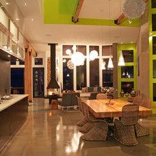 Contemporary Dining Room by Wilson & Company Ltd