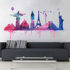 Eclectic Wall Decals by Web Roots Lda