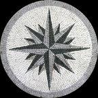 Custom Designed Handcut Marble Mosaic Medallions -