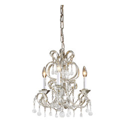 Decorative Crafts - Decorative Crafts Crystal Chandelier - 7965 - Features: