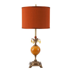 Harlequin Light - Harlequin Dazzler Lamp - Colorful and distinctive - truly a dazzler!