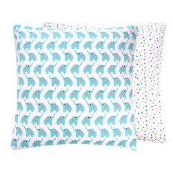 Zoo Animal Organic Throw Pillow - Chloe & Olive
