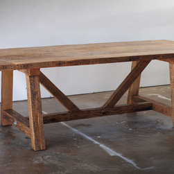 Reclaimed Wood Dining Table - Silicate Studio 2014