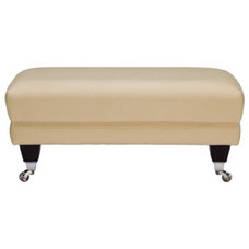 Florence footstool in Vogue Pampas - Sofa Workshop
