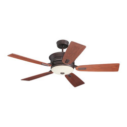 Emerson Ceiling Fans - Emerson Ceiling Fans CF990VNB Emerson  CF990VNB  Venetian Bronze with Walnut Bla - Emerson CF990 Highgrove Ceiling Fan Emersons new Highgrove ceiling fan features a uniquely sculpted housing and flange medallion detail in addition to