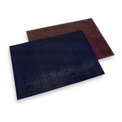 Foreston Trends - Dakota Faux Leather Placemat - Create a fashionable look for your table with a placemat of faux leather. It's a great way to add a modern touch to your settings.