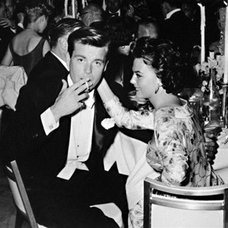 Traditional Artwork Frank Worth Photograph of Robert Wagner and Natalie Wood
