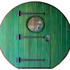 Eclectic Front Doors by Doors by Decora