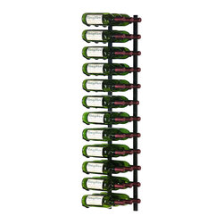 VintageView - Wine Rack 36 Bottle Vintage View Wine Rack - WS43 - Elegantly display 36 wine bottles label forward. VintageView? racking systems are versatile and easy to mount to any wall surface. Use one rack to spruce up your kitchen or living area, or build an entire wall of wine labels.