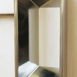 Silhouette Collection Handle - We carry many different types of hardware, including curtain rods and finials, hand made glass and ceramic knobs and pulls, and commercial cabinet hardware.  We proudly represent Hafele cabinetry hardware products.  With so many different styles to choose from, there's something to satisfy everyone!