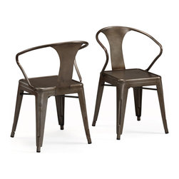 Vintage Tabouret Stacking Chairs - Industrial chairs are the perfect addition to a home that loves to entertain. They look great around a dining room table and are perfect for stacking and storing away. They're always ready for that impromptu party.
