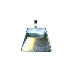Metal Dustpan - dustpan with cover flap for holding the dust in open air and procure more capacity dust, derbies etc. with heavy duty used for Residential, Housekeeping and for Industrial use. Long life durable due to metal body.