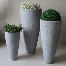 Modern Outdoor Pots And Planters by Hayneedle