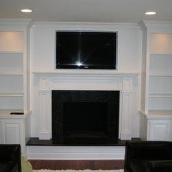 Modern Fireplace - Job Location:  Glenview, IL