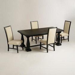 Rectangular Black Greyson Dining Collection -