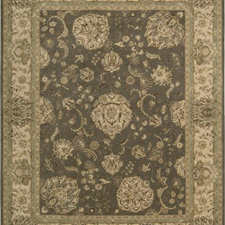 Nourison - Nourison Nourison 2000 Grey Area Rug - Redefine luxury with Nourisons most popular handmade signature collection featuring Persian and European traditional designs. The dense pile splendid patterns deeply compelling textures and intriguing aesthetics are certain to command immediate attention in any setting.