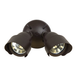 Craftmade - Craftmade Z412 2 Light Outdoor Halogen Flood Light - Craftmade 2 Light Dual Head Halogen Flood LightFeatures: