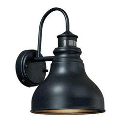 Franklin Smart Lighting Rub Bronze Outdoor Wall Light -