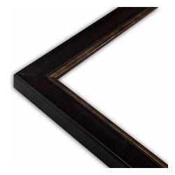 The Frame Guys - Contemporary Mahogany with Copper Lip Frame-Solid Wood, 10x13 - *Contemporary Mahogany with Copper Lip Frame-Solid Wood, 10x13