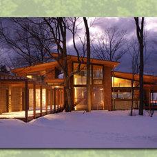 Modern Exterior by Robert J. Neylan Architects, Ltd.