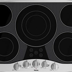 "Viking - RVEC3305B 30"" Wide 5 Element Built-In Electric Radiant Cooktop with QuickCook Su - Viking39s Built-In Electric Cooktop is a powerful cooktop with a wide variety of surface elements to offer professional grade cooking power Our cooktops are easy to clean thanks to the strong wear resistant glass ceramic top"