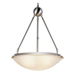 Trans Globe Lighting - Trans Globe Lighting 58613 BN Transitional Inverted Pendant Light - Trans Globe Lighting 58613 BN Transitional Inverted Pendant Light