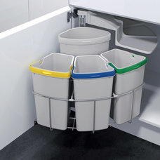 Contemporary Trash Cans by Signature Designs Kitchen & Bath