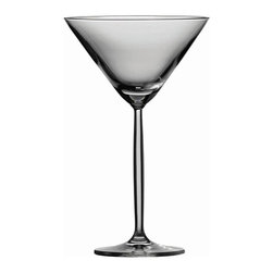 Schott Zwiesel - Schott Zwiesel Tritan Diva Martini Glasses - Set of 6 - 0006.105703 - Shop for Drinkware from Hayneedle.com! Make it martini time any time with the gorgeously classic look of the Schott Zwiesel Tritan Diva Martini Glasses - Set of 6. The high-quality Tritan crystal glass sparkles with elegant refinement. The dishwasher-safe design makes clean up a breeze.About Fortessa Inc.You have Fortessa Inc. to thank for the crossover of professional tableware to the consumer market. No longer is classic high-quality tableware the sole domain of fancy restaurants only. By utilizing cutting edge technology to pioneer advanced compositions as well as reinventing traditional bone china Fortessa has paved the way to dominance in the global tableware industry.Founded in 1993 as the Great American Trading Company Inc. the company expanded its offerings to include dinnerware flatware glassware and tabletop accessories becoming a total table operation. In 2000 the company consolidated its offerings under the Fortessa name. With main headquarters in Sterling Virginia Fortessa also operates internationally and can be found wherever fine dining is appreciated. Make sure your home is one of those places by exploring Fortessa's innovative collections.