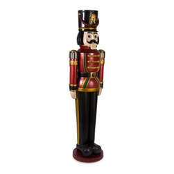 IMAX CORPORATION - Oversized Nutcracker - Oversized Nutcracker. Find home furnishings, decor, and accessories from Posh Urban Furnishings. Beautiful, stylish furniture and decor that will brighten your home instantly. Shop modern, traditional, vintage, and world designs.
