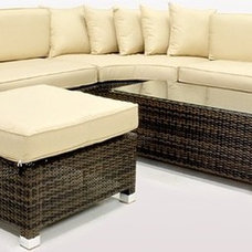 Modern Outdoor Sofas by rattangardenfurniture.co.uk