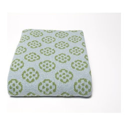 In2Green - Eco Fleur Blanket - In2green products are 100% sweatshop free. We believe in finding second generation uses for products, saving water and adding less chemical pollutants. A portion of all proceeds are given to support student activists for environmental causes as well as important environmental organizations such as Leave No Trace. Features: -Blend of recycled cotton yarns all knit. -Recycled cotton alternative in beautiful heather and mélange colors. -A unique line of eco friendly throws are colorful, modern.