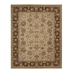 Nourison - Nourison Nourison 2000 Camel Area Rug - Redefine luxury with Nourisons most popular handmade signature collection featuring Persian and European traditional designs. The dense pile splendid patterns deeply compelling textures and intriguing aesthetics are certain to command immediate attention in any setting.