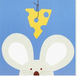 Artcom - Peek-a-Boo V, Mouse by Yuko Lau - Peek-a-Boo V, Mouse by Yuko Lau is a Stretched Canvas Print.