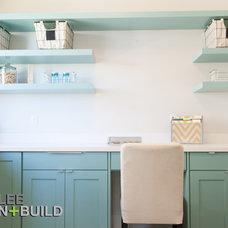 Contemporary Laundry Room by Ezra Lee Design+Build