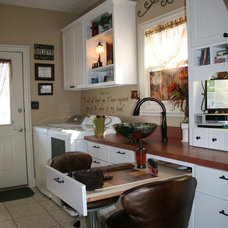 Traditional Laundry Room by Cole Lumber Co.