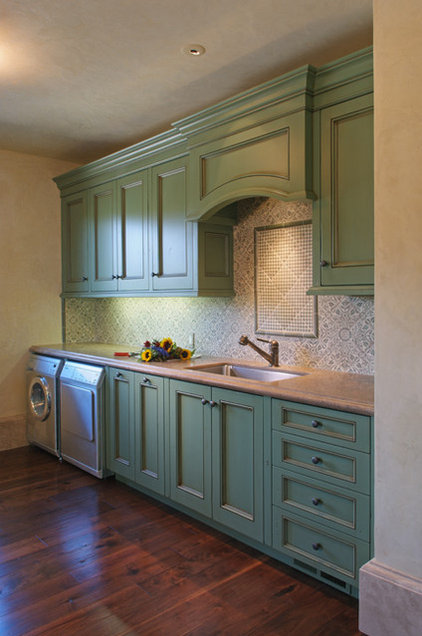 Traditional Laundry Room by Walden & Co. (formerly Sonoma Vintage Cabinets)