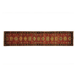 1800-Get-A-Rug - Runner New Zealand Wool Oriental Rug Rust Red Karajeh Handmade Sh20057 - Our Tribal & Geometric hand knotted rug collection, consists of classic rugs woven with geometric patterns based on traditional tribal motifs. You will find Kazak rugs and flat-woven Kilims with centuries-old classic Turkish, Persian, Caucasian and Armenian patterns. The collection also includes the antique, finely-woven Serapi Heriz, the Mamluk, Afghan, and the traditional handmade village Persian rugs.