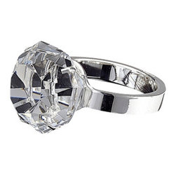"""Godinger Silver - Paperweight Diamond Ring - Don't allow the slightest breeze to make a mess of your desk. With this paperweight you can prevent that from happening. Makes a great gift for a co-worker or business associate. Dimesions: Length 4"""" , Diameter 3"""""""