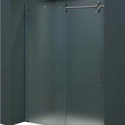 """Vigo - VIGO VG6041STMT6074R 60"""" Frameless Shower Door - Make your bathroom an oasis with a VIGO frameless shower door."""