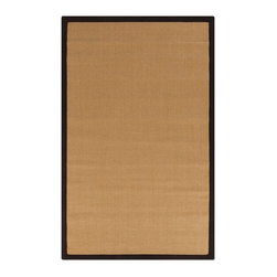 Surya - Surya Clinton Natural Fiber Woven Rug X-975-1009NLC - The natural beauty of the warm, earth-tone color, and the wide, cotton border in four natural colors, make our Clinton sisal area rug so beautiful. The natural fibers make them Eco Friendly, just another reason this extremely durable rug is so popular. Made from 100% hand woven sisal in India.