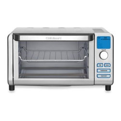 Cuisinart - Cuisinart Compact Digital Toaster Oven Broiler - This digital toaster oven broiler from Cuisinart makes a small footprint on your counter but stands big on function in the kitchen.