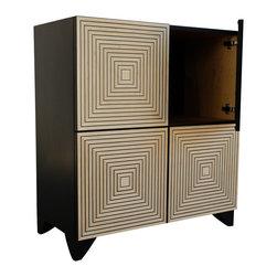 Irvin Studio and Design - Maze Console Cabinet - $1995.00 per cabinet.