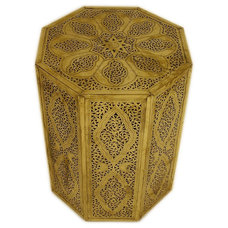 Mediterranean Side Tables And Accent Tables by Badia Design Inc.