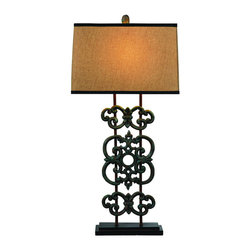 Bassett Mirror Company - Bassett Mirror L2512T Capistrano Table Lamp in Bronze - Capistrano Table Lamp in Bronze belongs to Easy Living Collection by Bassett Mirror Company Bassett Mirror is fluent in this art, showing a terrific contemporary furniture that will satisfy on the one hand fans of home coziness, and on the other hand - seekers of non-standard design solutions also. One of the many strengths of the Bassett Mirror is using high quality materials for perfect embodiment of brilliant design ideas. Lamp (1)