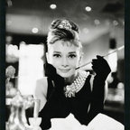 None - Audrey Hepburn-Breakfast at Tiffany's' Framed Art Print with Gel Coated Finish - Title: Audrey Hepburn-Breakfast at Tiffany's Framed Textured ArtProduct Type: Framed Textured Art - Hand-applied texture finishImage Dimensions: 23.41 inches wide x 35.41 inches high