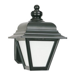 Sea Gull Lighting - Sea Gull Lighting 8972BLE Bancroft 1 Light Energy Star Outdoor Lantern Wall Scon - Specifications: