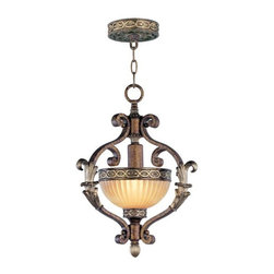 Livex Lighting - Livex Lighting-8530-64-Seville - One Light Foyer - Height: 17""