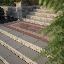Hardscape Retaining Wall - For details and additional information on installing a retaining wall with Valley City Supply, please contact us at 330-483-3400 or visit our website at ValleyCitySupply.com